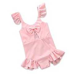 billige Badetøj til piger-Baby Pige Ensfarvet Uden ærmer Badetøj