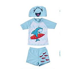 billige Badetøj til drenge-Baby Drenge Strand Ensfarvet / Blomstret Badetøj