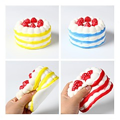 cheap Toys & Games-LT.Squishies Squeeze Toy / Sensory Toy / Stress Reliever Cake Office Desk Toys / Stress and Anxiety Relief / Decompression Toys 1pcs All