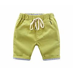 tanie Odzież dla chłopców-Dzieci Dla chłopców Podstawowy Jendolity kolor Sznurowany Bawełna Szorty