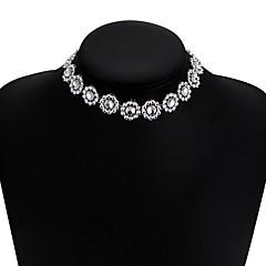 billige Halsbånd-Dame Stak Kort halskæde - Europæisk, Mode Hvid 30 cm Halskæder Smykker 1pc Til Afslappet