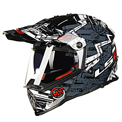 tanie Kaski i maski-LS2 MX436 Motocross Doroślu Dla obu płci Kask motocyklowy Tłumienie / Water-Repellent / Przeciw zużywaniu się