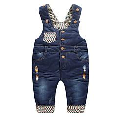 voordelige Broeken voor baby's-Baby Unisex Standaard Effen Overall & Jumpsuit / Peuter
