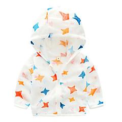 billige Overtøj til babyer-Baby Unisex Trykt mønster Langærmet Jakkesæt og blazer