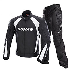 baratos Jaquetas de Motociclismo-DUHAN 089 Roupa da motocicleta Conjunto de calças de jaquetaforHomens Tecido Oxford Inverno Impermeável / Anti-Vento / Á Prova-de-Água