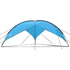 billige Telt og ly-Sheng yuan 7 person Beskyttelse & Presenning Stang Kuppel Telt  utendørs Vanntett  til Lerret 480*480*200 cm