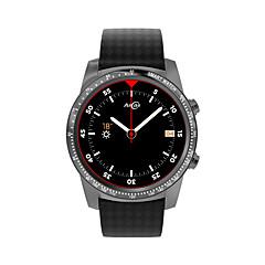 tanie Inteligentne zegarki-Inteligentny zegarek W1 na Android iOS 3G Wireless 2.4GHz GPS Pomiar ciśnienia krwi Ekran dotykowy Spalonych kalorii Odbieranie bez użycia rąk Czasomierze Stoper Powiadamianie o połączeniu / Budzik