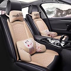 billige Setetrekk til bilen-ODEER Seteputer til bilen Setetrekk Beige tekstil / Kunstig Lær Vanlig for Universell Alle år Alle Modeller