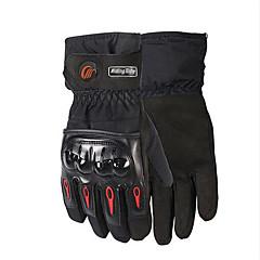 tanie Rękawiczki motocyklowe-RidingTribe Full Finger Dla obu płci Rękawice motocyklowe Flanela / poliuretanu Wodoodporny / Keep Warm / Oddychający