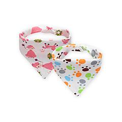 baratos Acessórios para Crianças-2 conjuntos Bebê Unisexo Padrão / Multi-Côr / Toile Babador de Bebe