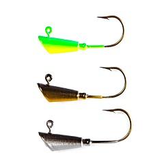 billige Fiskekroker-5 pcs Tynn Hengespiker Søfisking / Fluefisking / Agn Kasting Jigkrok