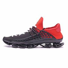 tanie Buty do biegania-Unisex Bieganie / Adidasy Guma Chodzenie / Jogging Odporność na odkształcanie, Amortyzacja, Zdatny do noszenia Siateczka Czarny / czarny / biały / Czarny / Czerwony