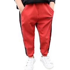 billige Drengebukser-Børn Drenge Ensfarvet Jeans