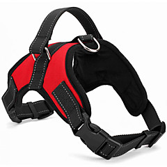 cheap Dog Collars, Harnesses & Leashes-Dogs Cats Pets Harness Portable Breathable Trainer Solid Colored Nylon Red Camouflage Color Leopard