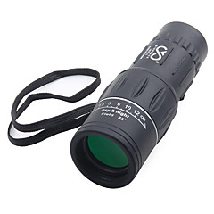 cheap Binoculars, Monoculars & Telescopes-SRATE 16 X 52 mm Monocular High Definition, Glow Fully Coated BAK4 Camping / Hiking, Hunting Night Vision Plastic Rubber Aluminium Alloy