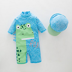 billige Badetøj til drenge-Baby Drenge Ensfarvet Badetøj