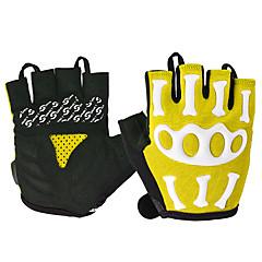 tanie Rękawiczki motocyklowe-ROCKBROS Pół palca Dla obu płci Rękawice motocyklowe Nylon / poliuretanu Oddychający / Wodoodporność / Antypoślizgowy
