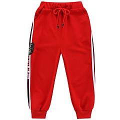 billige Bukser og leggings til piger-Børn Pige Basale Trykt mønster Trykt mønster Bomuld Bukser