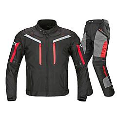 baratos Jaquetas de Motociclismo-RidingTribe JK-40 Roupa da motocicleta Conjunto de calças de jaqueta para Homens Tecido Oxford / Náilon / Poliéster Verão Impermeável / Resistente ao Desgaste / Proteção