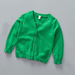 billige Sweaters og cardigans til drenge-Baby Drenge Ensfarvet Langærmet Trøje og cardigan