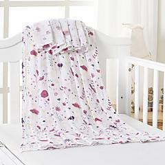 baratos Acessórios para Crianças-Recém-Nascido Unisexo Floral Cobertor
