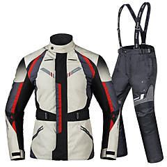 tanie Kurtki motocyklowe-DUHAN D-206 Ubrania motocyklowe Zestaw kurtek spodni na Męskie Oksford / Poliester / Poliamid Na każdy sezon Wodoodporny / Odporność na zurzycie / Ochrona