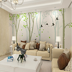 cheap Wall Art-Birdie Woods Map Customized Wallcovering 3D Mural Wallpaper Suitable for Living Background Wall Covering 448×280cm
