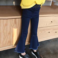 billige Jeans til piger-Børn Pige Gade I-byen-tøj Patchwork Jeans