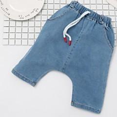 billige Drengebukser-Børn Drenge Trykt mønster Bukser