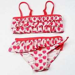 billige Badetøj til piger-Børn Pige Frugt Badetøj