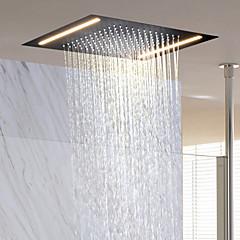 Moderno Doccia a pioggia Ti-PVD caratteristica - Effetto pioggia / Nuovo design, Soffione doccia