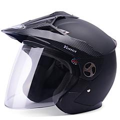 tanie Kaski i maski-YEMA 621 Braincap Doroślu Unisex Kask motocyklowy Odporny na wstrząsy / Odporność na promienie UV / Odporność na wiatr