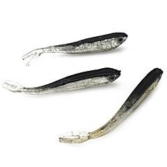 billiga Fiskbeten och flugor-50 pcs st Mjukt bete / Fiskekit Mjukt bete Silikon / PP (Polypropen) Lätt att bära / Lätt att använda Sjöfiske / Kastfiske / Isfiske