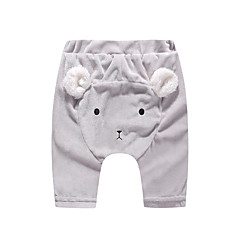 billige Babytøj-Baby Pige Aktiv / Basale I-byen-tøj Patchwork Patchwork Bomuld Leggings