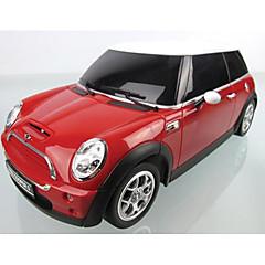 baratos Carros Controle Remoto-Carro com CR Rastar 15000 4CH 27MHz Carro 1:24 8 km/h KM / H Controle Remoto / Luminoso