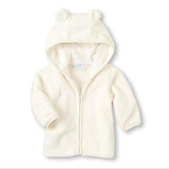 billige Overtøj til babyer-Baby Pige Patchwork Langærmet Jakkesæt og blazer