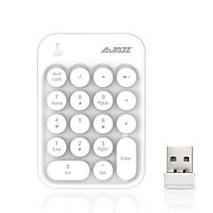 billiga Keyboards-AJAZZ AK18 2.4G Keyboards 18 pcs Datortillbehör Bärbar / Förtjusande AAA driven
