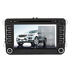 billiga DVD-spelare till bilen-520WGNR04 7 tum 2 Din Windows CE 6.0 / Windows CE In-Dash DVD-spelare Inbyggd Bluetooth / GPS / iPod för Volkswagen Stöd / RDS / Spel