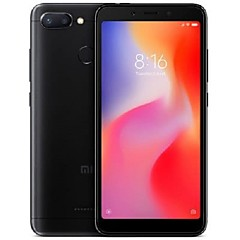 "billiga Mobiltelefoner-Xiaomi Redmi 6 Global Version 5.45 tum "" 4G smarttelefon ( 4GB + 64GB 12 mp MTK Helio P22 3000 mAh mAh )"