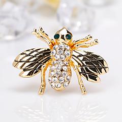 Χαμηλού Κόστους Μοδάτες Καρφίτσες-Γυναικεία Κομψό Καρφίτσες - Δημιουργικό, Μέλισσα Ευρωπαϊκό, Μοντέρνα Καρφίτσα Χρυσό Για Δώρο / Καθημερινά