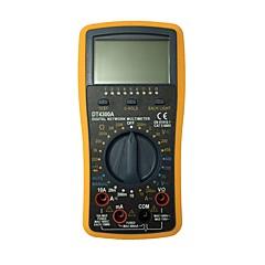 tanie Instrumenty elektryczne-dt4300a ręczny multimetr cyfrowy LCD do użytku domowego i samochodowego