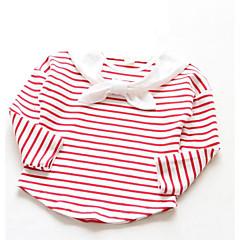 baratos Roupas de Meninas-Infantil Para Meninas Sólido Manga Longa Camiseta