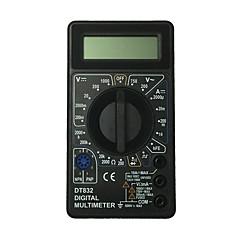 tanie Instrumenty elektryczne-dt832-1000v czarny ręczny multimetr cyfrowy LCD do użytku domowego i samochodowego