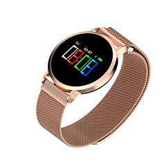 tanie Inteligentne zegarki-F1 pro Inteligentny zegarek Android iOS Bluetooth Sport Wodoodporny Pulsometry Pomiar ciśnienia krwi Ekran dotykowy Krokomierz Rejestrator aktywności fizycznej Rejestrator snu siedzący Przypomnienie