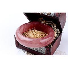 Χαμηλού Κόστους Φαρδιά Βραχιόλια-Γυναικεία Κλασσικό Βραχιόλια - Δημιουργικό Απλός, Φύση, Γλυκός Βραχιόλια Ροζ Για Δώρο / Εξόδου