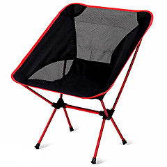 cheap Camping Furniture-Camping Folding Chair Outdoor Portable, Lightweight Aluminium Alloy 7005, Oxford Cloth, Oxford for 1 person Fishing / Beach / Camping - Dark Blue, Navy Blue, Fuchsia