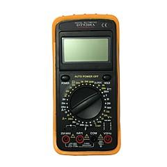 tanie Instrumenty elektryczne-dt9208a.4 ręczny multimetr cyfrowy LCD do użytku domowego i samochodowego