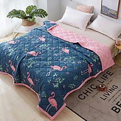 billiga Täcken och överkast-Bekväm - 1 st. Täcke Sommar Polyester Geometrisk