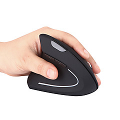 billiga Möss-MODAO Trådlös 2.4G vertikal mus / ergonomisk mus Optical E36 6 pcs nycklar Led andnings ljus 3 justerbara DPI-nivåer 2 programmerbara tangenter 800/1200/1600 dpi