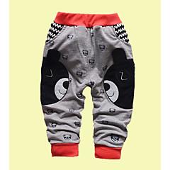billige Bukser og leggings til piger-Børn Pige Trykt mønster / Patchwork Bukser